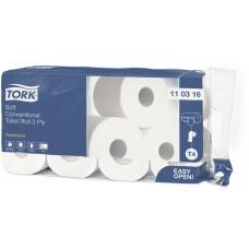 Tork туалетная бумага в стандартных рулонах ультрамягкая 110316 T4 3сл 29.5м