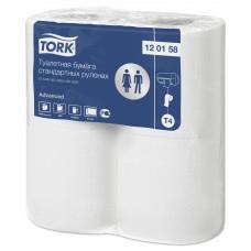 Tork туалетная бумага в стандартных рулонах 120158 T4 23м 2сл