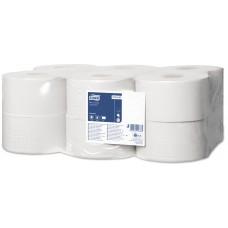 Tork туалетная бумага в мини-рулонах 120197 T2 200м 1сл