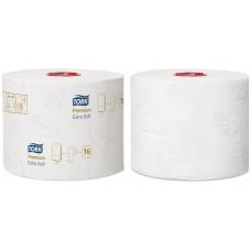 Tork туалетная бумага Mid-size в миди-рулонах ультрамягкая 127510 T6 70м 3сл