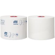 Tork туалетная бумага Mid-size в миди-рулонах 127540 T6 1сл 135м