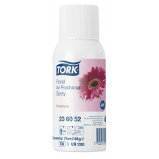 Tork аэрозольный освежитель воздуха, цветочный аромат 236052 75мл А1