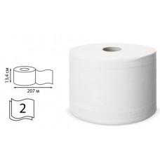 Туалетная бумага в рулонах с центральной вытяжкой  207м  2сл аналог SmartOne T8
