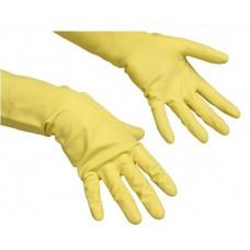Перчатки Контракт резиновые с покрытием размеры S,M,L,XL