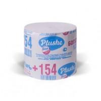 Туалетная бумага Plushe Богатырь +,1 слой. серая, б/втулки, 30 в уп