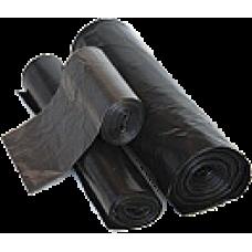Мусорные мешки в рулоне  ПВД 120 л 70*110см 40мкм 1рул*10шт